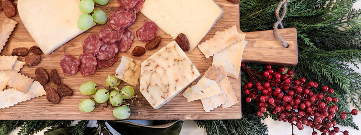 BUILDING A HOLIDAY CHARCUTERIE BOARD