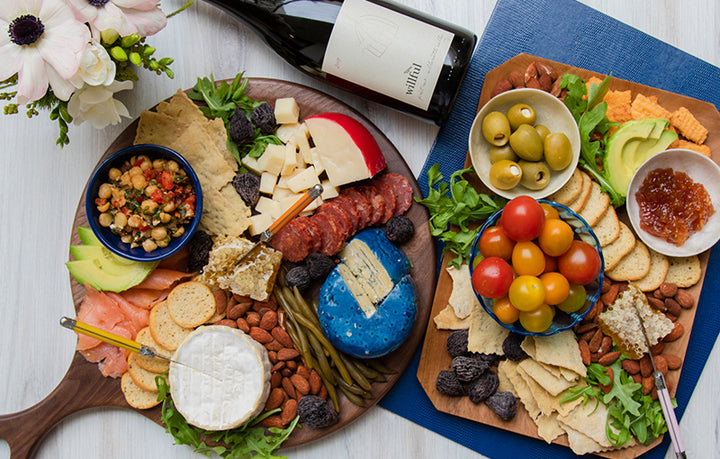 The Perfect Spring Charcuterie Board