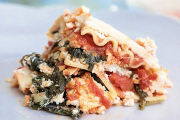 Lucy's Spinach Lasagna