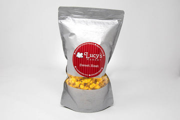 Sweet Heat Popcorn by Lucy's