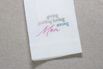 Giving Loving Mom Linen Towel