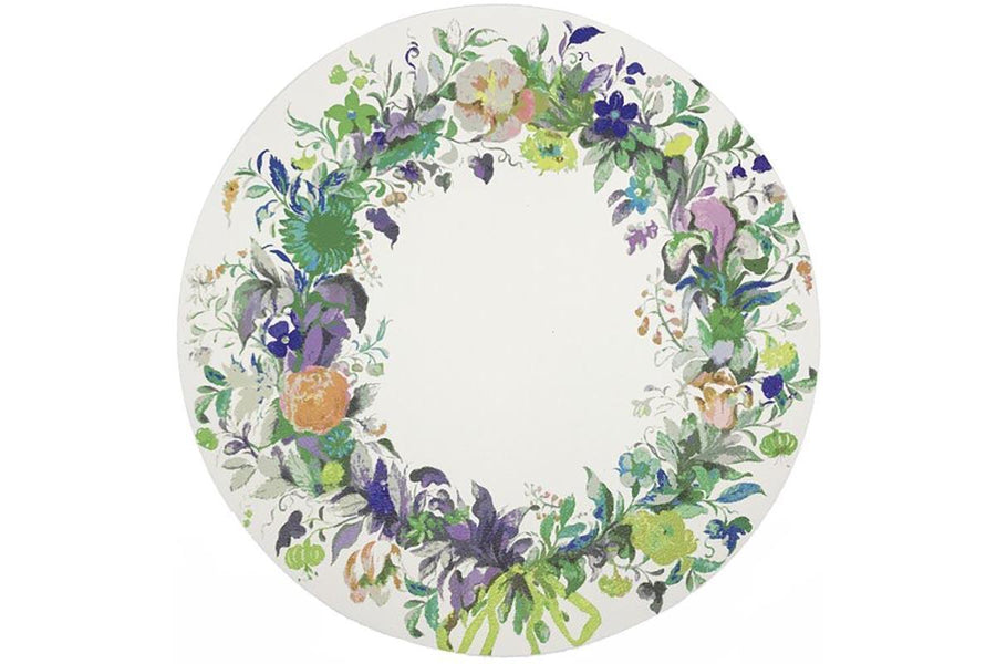 Green Flowers Wreath 16