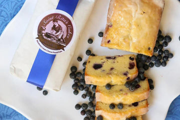St Rita's Blueberry Pound Cake