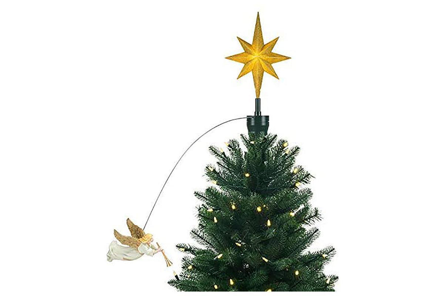 Angel Animated Tree Topper