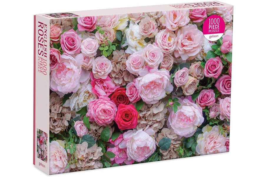 English Roses 1000-Piece Puzzle