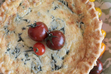 Spinach Quiche - Bobby Lee