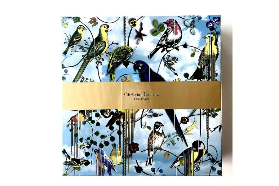 Christian Lacroix 2-Sided Birds Puzzle