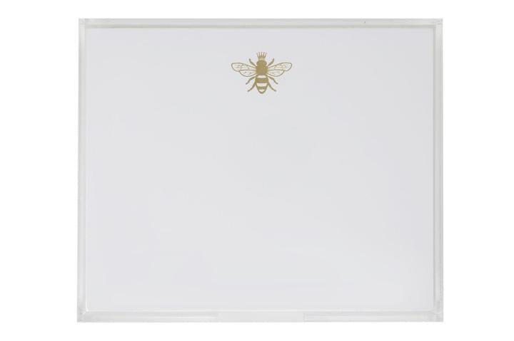 Bee Notepad with Tray