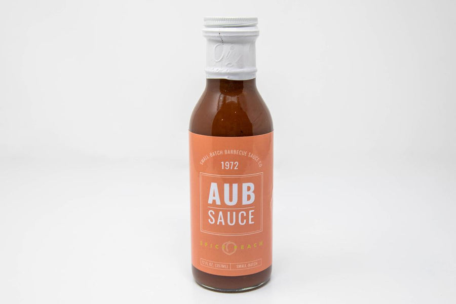 Spicy Peach BBQ Aub Sauce