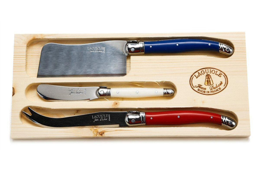 3 PC Cheese Knife Set Paris