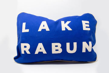Handmade Lake Rabun Pillow
