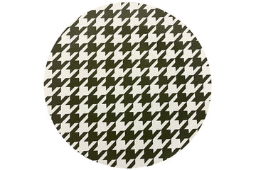 Green Houndstooth Placemat
