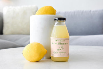 Eugene and Elizabeth's Lemon Cordial, 12oz