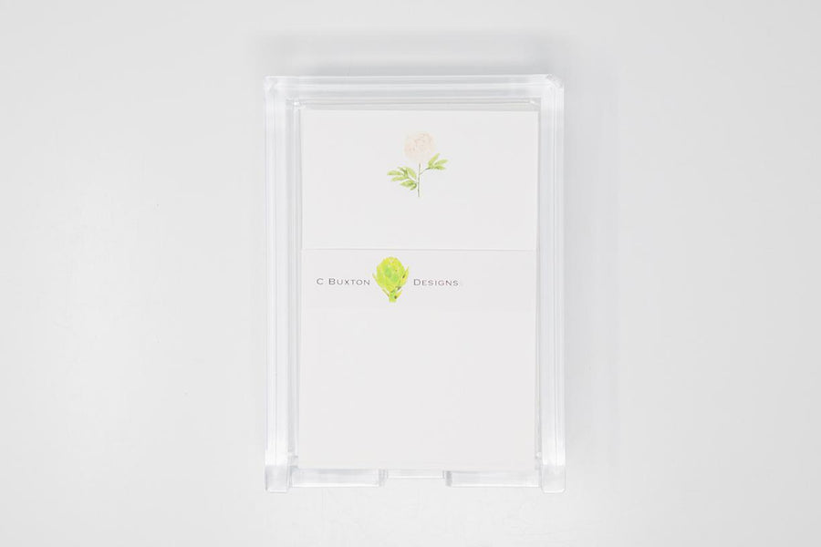 C. Buxton List Cards with Acrylic Holder