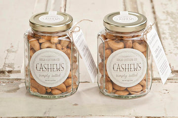 Simply Salted Cashews, 6oz jar - High Cotton Co.