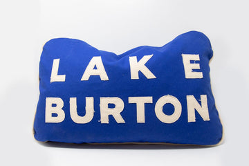 Handmade Lake Burton Pillow