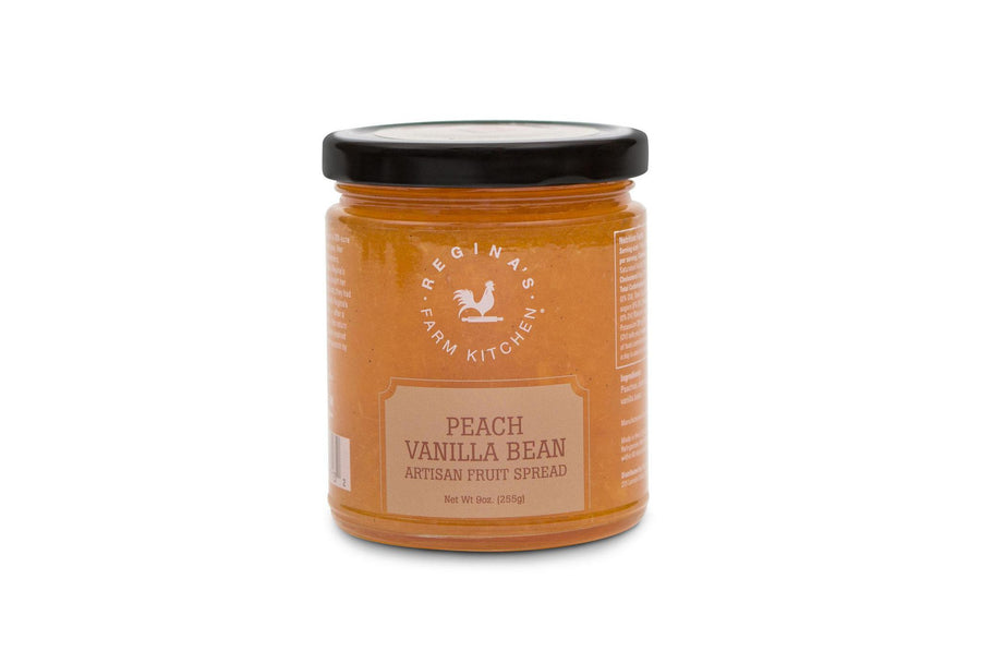 Peach Vanilla Bean Spread - Regina's Farm Kitchen