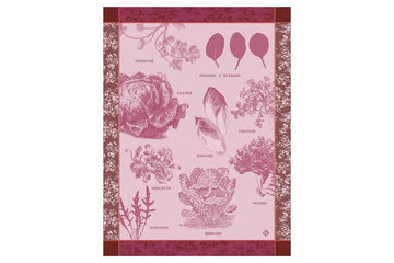 Salades Illustrees Tea Towel