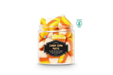 Candy Corn Puffs - Candy Club