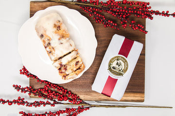 St Rita's Cranberry Cream Cheese Pound Cake