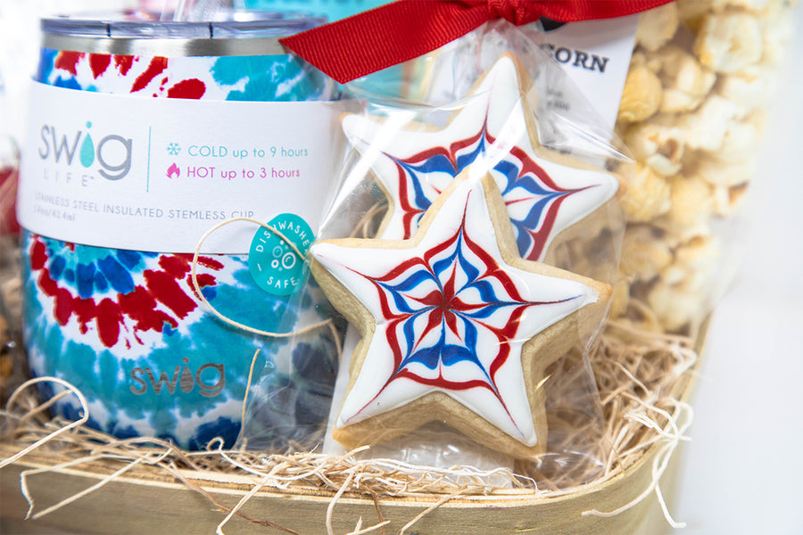 Patriotic Hostess Basket