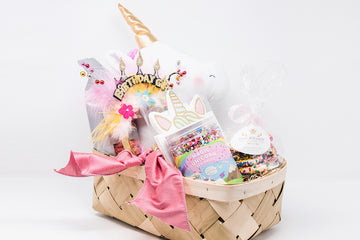 Magical Unicorn Birthday Basket