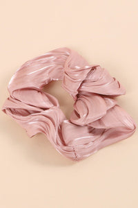 Sheen Metallic Scrunchy