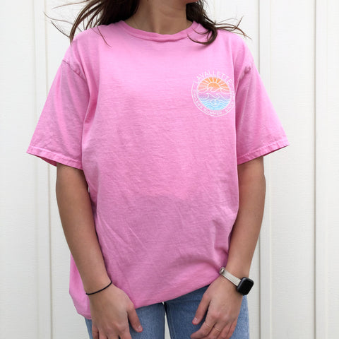 Lavallette Vibrant Sunset T-Shirt (2 Color Options)