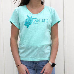Lavallette Fitted Turtle T-Shirt (2 Color Options)
