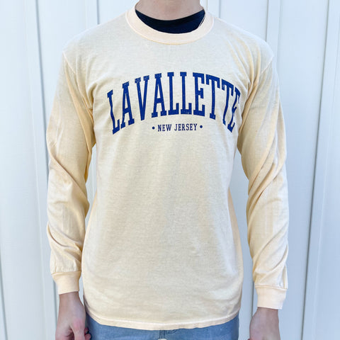 Yellow Lavallette Long Sleeve