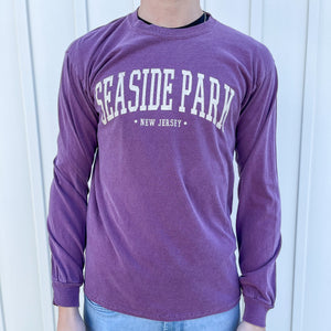 Maroon Seaside Park Long Sleeve