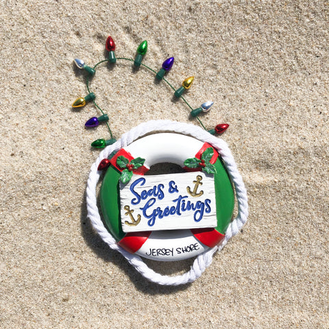 Seas and Greetings Ornament