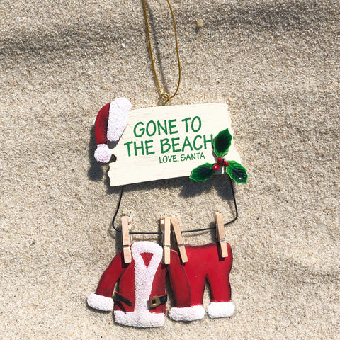 Gone to the Beach Ornament