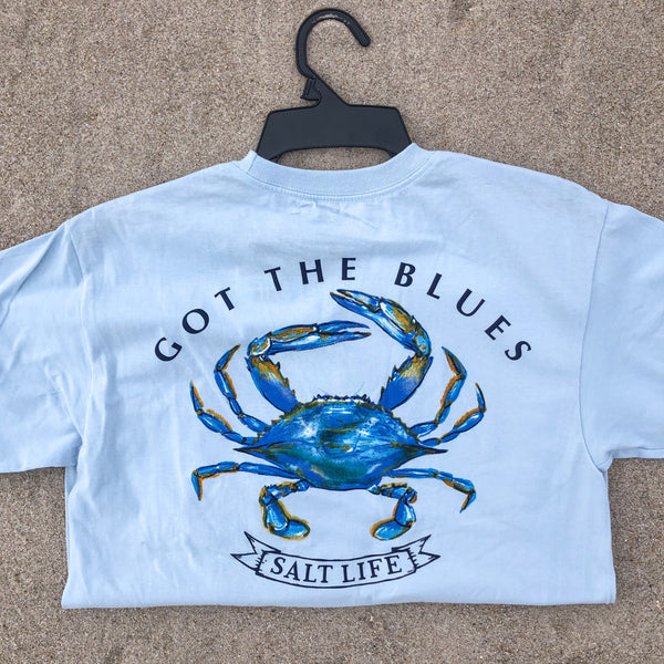 """Got the Blues"" Salt Life T-Shirt"