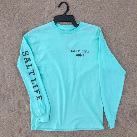 """Thrill in the Reel"" Salt Life Long Sleeve"