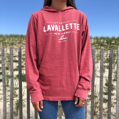 Lavallette Wave Hoodie (Various Color Options)