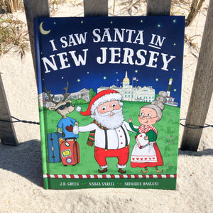 """I Saw Santa in New Jersey"" Children's Book"
