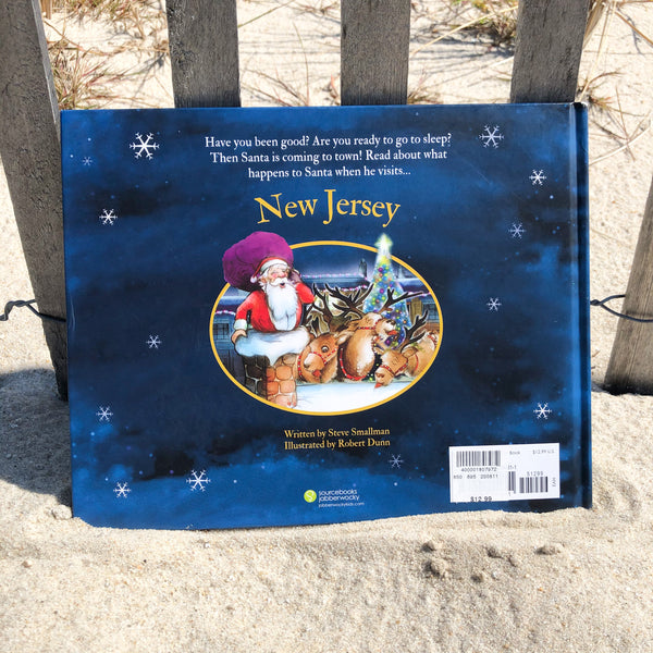 """Santa is Coming to New Jersey"" Children's Book"