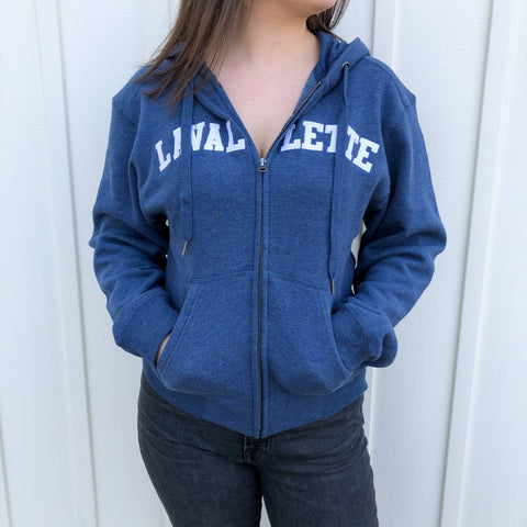 Lavallette Zip Up Hoodie (Various Color Options)