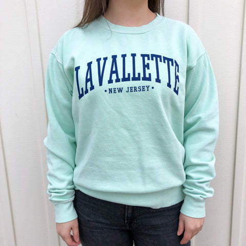 Lavallette Pastel Crewneck (Various Color Options)