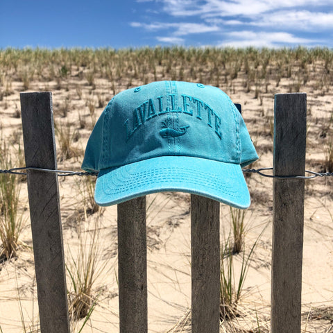 Women's Lavallette Teal Whale Hat