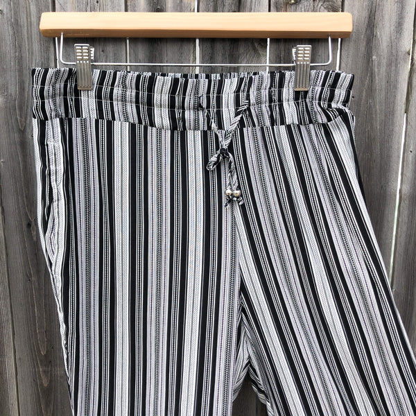 Raya Sun Striped Pants (2 Color Options)
