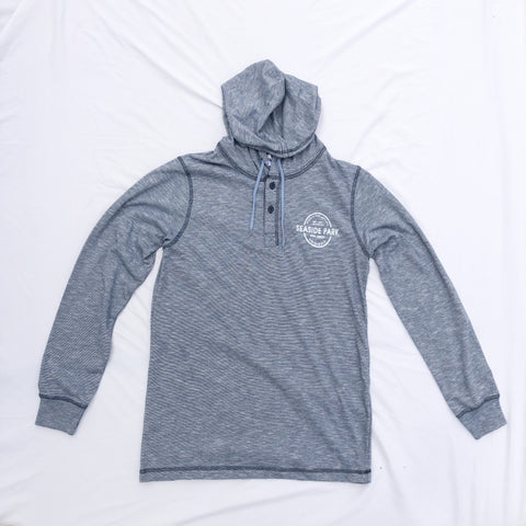 Seaside Park Button Hoodie (2 Color Options)