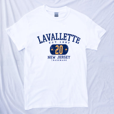 Lavallette 20 Graphic T-Shirt (Various Color Options)
