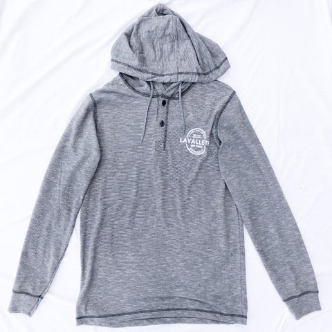 Lavallette Button Up Hoodie (2 Color Options)