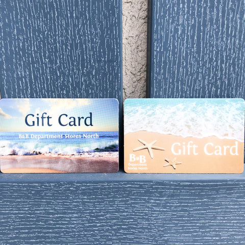 ** GIFT CARDS **