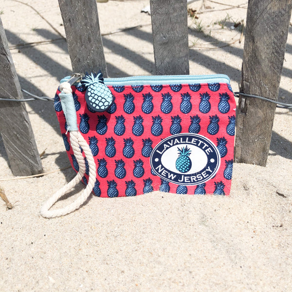 Lavallette Pineapple Wristlet (2 Color Options)