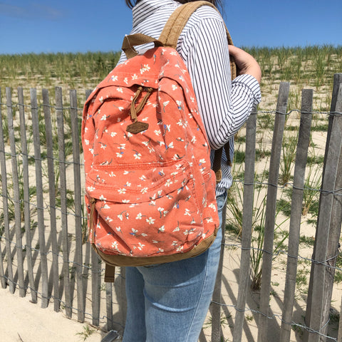 O'Neill Red Ditsy Floral Backpack