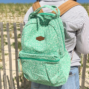 O'Neill Mint Green Floral Backpack