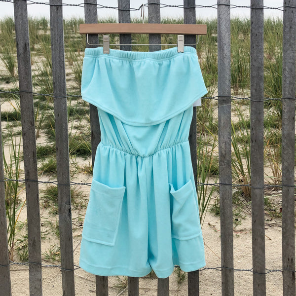 Terrycloth Romper (Various Color Options)